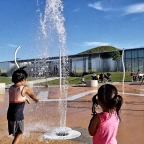 Budget Wise Family Fun Activity 2: Summer Splash Pad and Playground